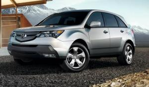 2009 acura mdx images