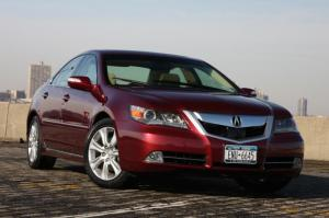 2009 acura rl images