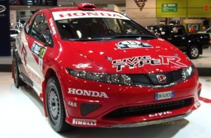 honda civic racing photos