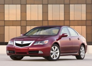 New 2009 Acura RL